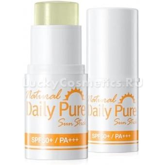 Солнцезащитный крем-стик Secret Key Natural Daily Pure Sun Stick SPF 50+ PA+++