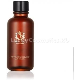 Разглаживающий тонер Eunyul Horse Oil Woman Skin