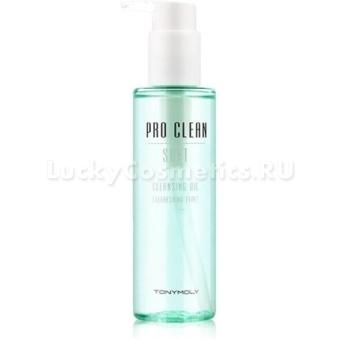 Гидрофильное масло для удаления косметики Tony Moly Pro-clean Soft Cleansing Oil