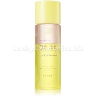 Жидкость для очищения губ и глаз от макияжа It's Skin Skin Brightening 5 Fruits Lip&Eye Remover