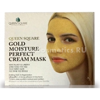 Антивозрастная маска Anskin Gold Moisture Perfect Cream Mask
