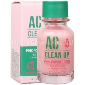 Точечное средство для пробемной кожи Etude House AC Clean Up Pink Powder Spot