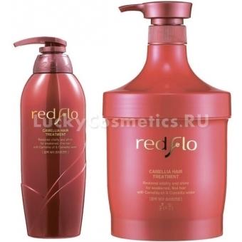 Маска для волос на основе масла камелии Flor de Man Redflo Camellia Hair Treatment
