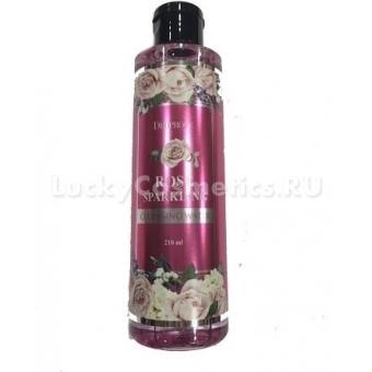 Розовая вода косметическая Deoproce Rose Sparkling Cleansing Water