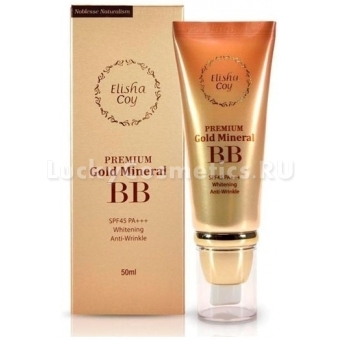 ВВ крем Elisha Coy Premium Gold Mineral BB