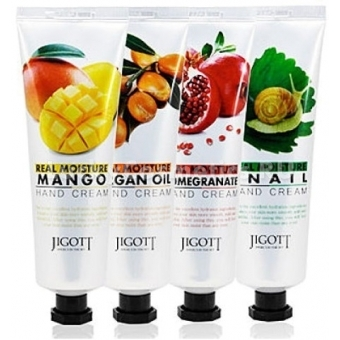 Увлажняющий крем для рук Jigott Real Moisture Hand Cream