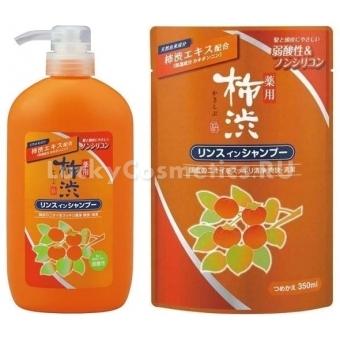 Шампунь – кондиционер для волос Kumano Cosmetics Кakishibu 2 in 1 Shampoo