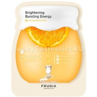 Тканевая маска для сияния кожи с экстрактом мандарина Frudia Citrus Brightening Mask