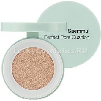 Тональный крем-кушон для маскировки пор The Saem Saemmul Perfect Pore Cushion