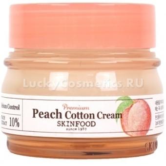 Крем для лица с экстрактом персика Skinfood Premium Peach Cotton Cream