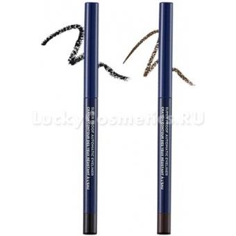 Стойкий автоматический карандаш для глаз The Face Shop Super Proof Automatic Eyeliner