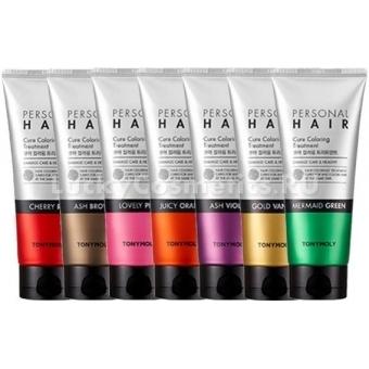Оттеночная маска для волос Tony Moly Personal Hair Cure Coloring Treatment
