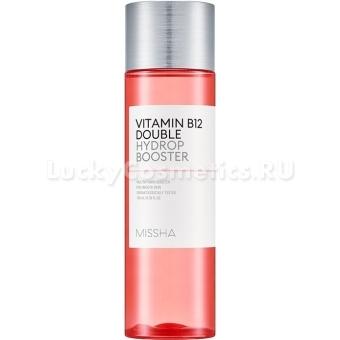 Интенсивно увлажняющий тоник с витамином В12 Missha Vitamin B12 Double Hydrop Booster