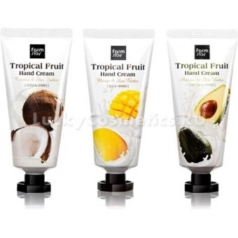 Крем для рук с экстрактом тропических фруктов FarmStay Tropical Fruit Hand Cream