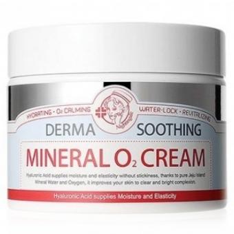 Успокаивающий кислородный крем Nightingale Derma Soothing Mineral O2 Cream