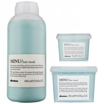 Восстанавливающая маска для окрашенных волос Davines Minu Hair Mask