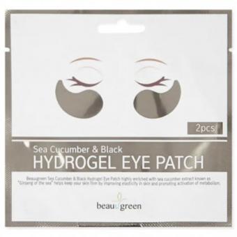 Патчи для глаз BeauuGreen Sea Cucumber And Black Hydrogel Eye Patch Sachet
