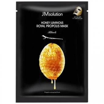 Маска для лица с прополисом и маточным молочком JMsolution Honey Luminous Royal Propolis Mask