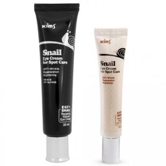 Улиточный крем вокруг глаз Kims Snail Eye Cream For Spot Care