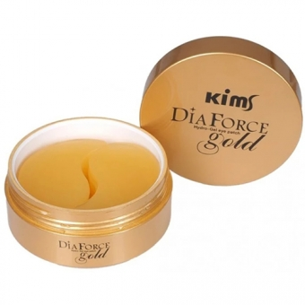 Гидрогелевые патчи Kims Dia Force Gold Hydro-Gel Eye Patch
