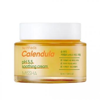Успокаивающий крем с календулой Missha Su:Nhada Calendula pH Balancing and Soothing Cream