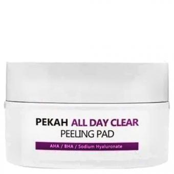Очищающие и отшелушивающие диски Pekah All Day Clear Peeling Pad