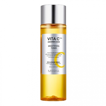 Антивозрастной тонер с витамином С для лица Missha Vita C Plus Brightening Toner