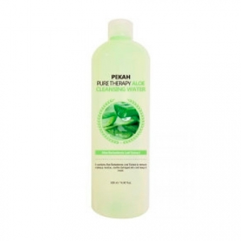 Очищающая вода с экстрактом алоэ Pekah Pure Therapy Cleansing Water Aloe