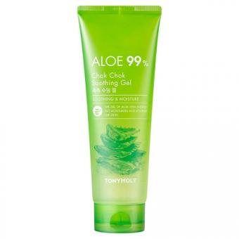 Увлажняющий гель с экстрактом алоэ вера Tony Moly Aloe 99% Chok Chok Soothing Gel