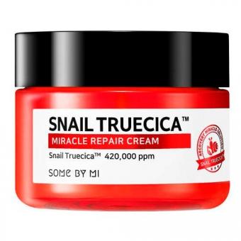 Крем для лица восстанавливающий с муцином улитки  Some by Mi Snail Truecica Miracle Repair Cream