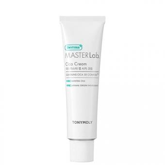Крем для лица с экстрактом центеллы азиатской Tony Moly Derma Master Lab Cica Cream