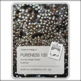 Тканевая маска для лица с икрой Tony Moly Pureness 100 Caviar Mask Sheet