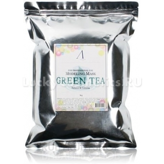 Альгинатная маска с зеленым чаем Anskin Grean Tea Modeling Mask / Refill