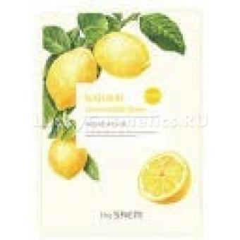 Маска для лица с экстрактом лимона тканевая The Saem Natural Lemon Mask Sheet