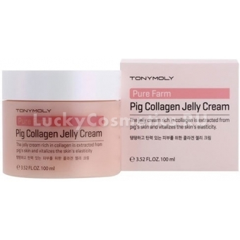 Крем для лица Tony Moly Pure Farm Pig Collagen Jelly Cream