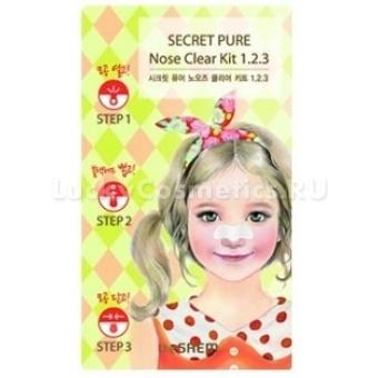 Патч против черных точек The Saem Secret Pure Nose Clear Patch