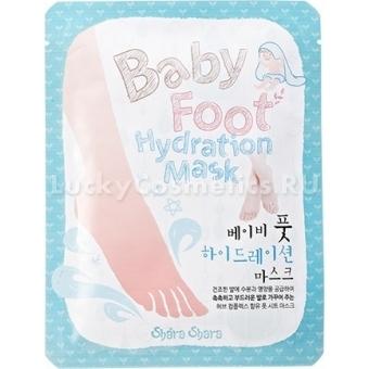 Увлажняющая маска для ног Shara Shara Smooth Baby Foot Hydration Mask
