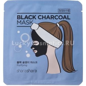 Отшелушивающая маска Shara Shara Charcoal Mask Purifying
