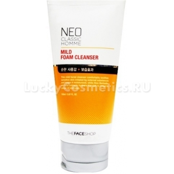 Пенка для умывания The Face Shop Neo Classic Homme Mild Foam Cleanser