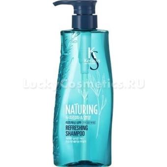 Шампунь с экстрактом морских водорослей KeraSys Naturing Refreshing Shampoo