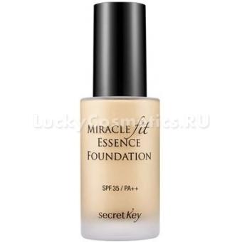 Жидкая тональная основа Secret Key Miracle Fit Essence Foundation