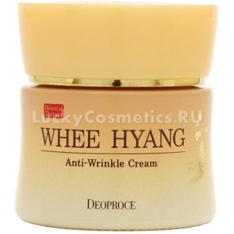 Антивозрастной крем Deoproce Whee Hyang Anti-Wrinkle Cream