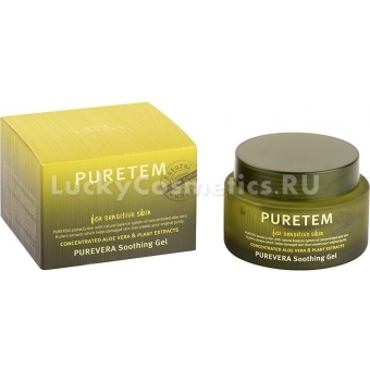 Смягчающий гель Welcos Puretem Purevera Soothing Gel