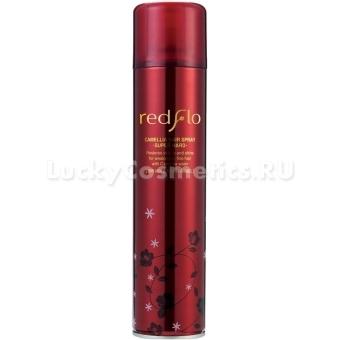 Спрей для волос сильной фиксации с маслом камелии Flor de Man Redflo Camellia Hair Spray Super Hard