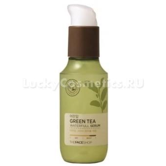 Сыворотка увлажняющая The Face Shop Green Tea Waterfull Serum