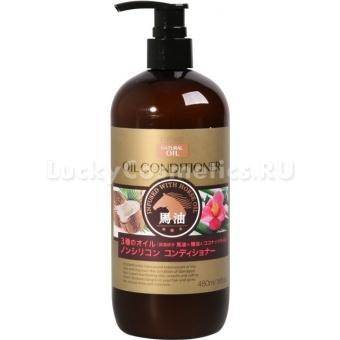 Кондиционер для сухих волос с 3 видами масел Deve Natural Oil Conditioner