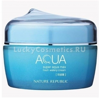 Крем-гель увлажняющий Nature Republic Super Aqua Max Fresh Watery Cream