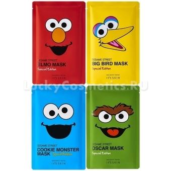 Тканевая маска для лица It's Skin Sesame Street Mask Special Edition
