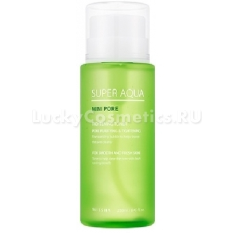 Тоник для сужения пор Missha Super Aqua Mini Pore Tightening Toner
