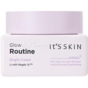 Крем для ровного тона It's Skin Glow Routine Bright Cream
